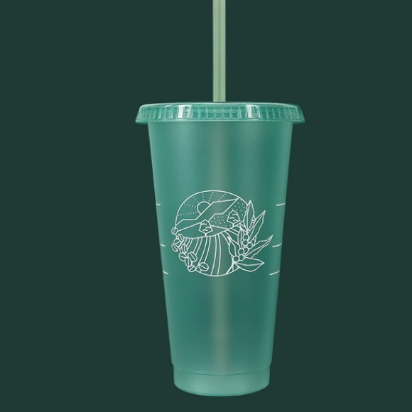 Earth Day Reusables Plastic Cold Cup